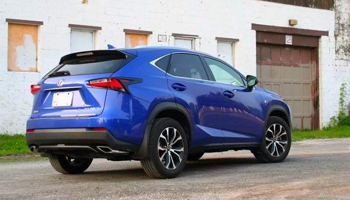 Nuova Lexus NX Hybrid 2016
