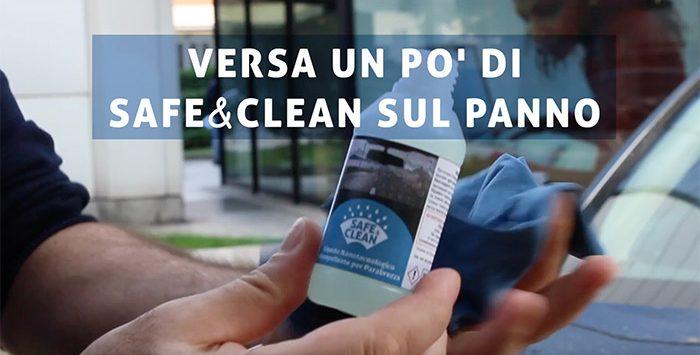 Film Idrorepellente Per Parabrezza Kit Safe & Clean: Trattamento Cationico