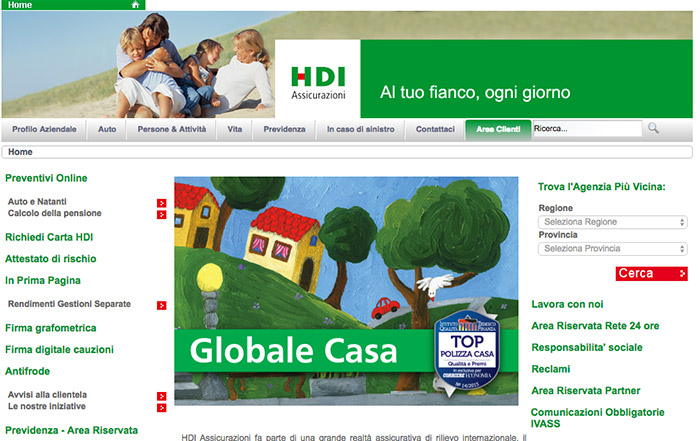 Assicurazione HDI online