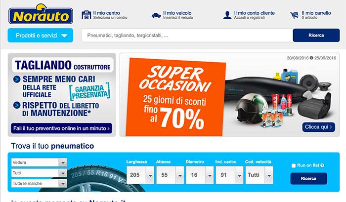 Shop online auto/moto: Norauto Promozioni Online