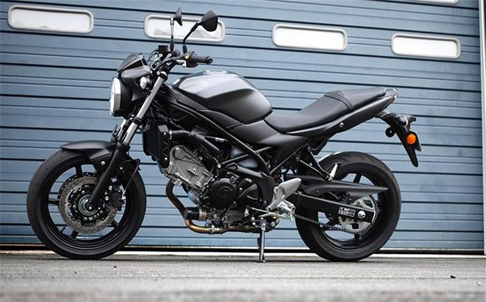 Nuova Suzuki SV650A