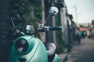 scooter parcheggio sicurezza