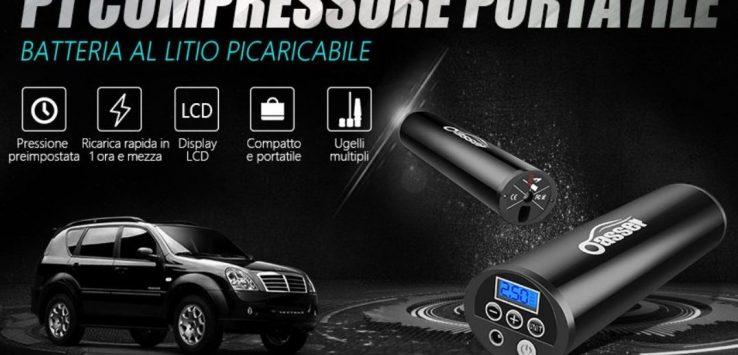 Compressore Aria Portatile Auto Moto Guida all'Acquisto