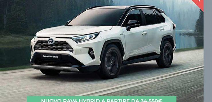 Toyota Rav4 Hybrid Prezzo e Offerte Carplanner