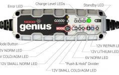 Noco G3500EU Genius Caricabatteria Smart Recensione