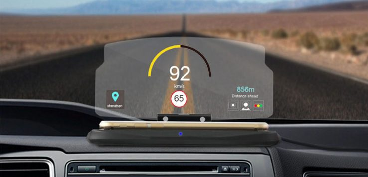 Head Up Display Auto Con lo Smartphone?